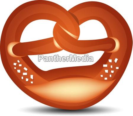 grafico do vetor do pretzel liberado
