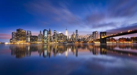 luzes de new york city