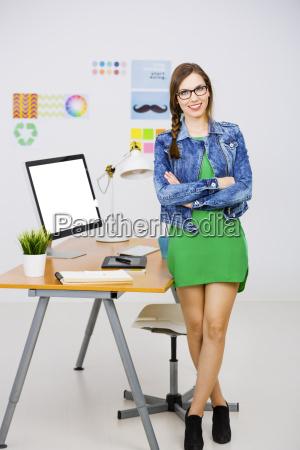 casual businesswoman