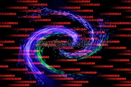 luz computador informacao virus matriz programa