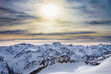 nuvem ao ar livre alpino tag