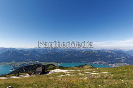 olhar vista alta austria cog ferrovia