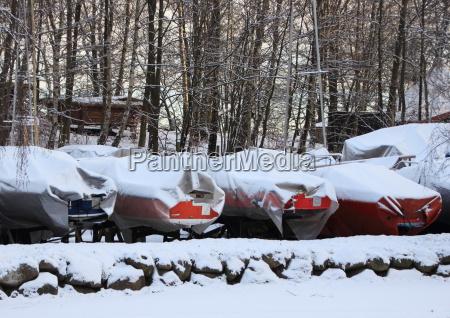 inverno maritimo de neve geada ao