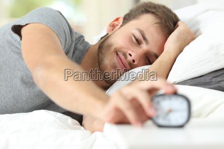 feliz acorde de um homem feliz