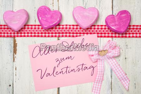 pink cartao todo o amor para
