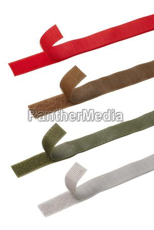 apertos de poder colorido ou tiras