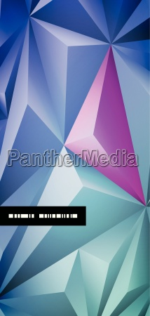 vector abstract polygonal background design