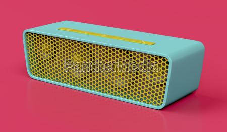 musica som audio alto falante sem