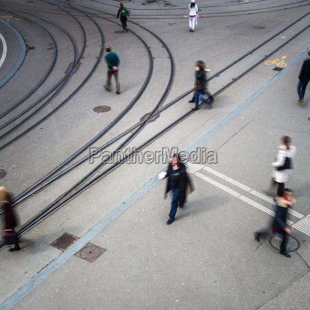 conceito urbano do trafego rua da