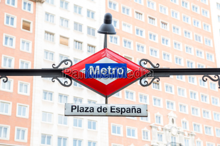 estacion de metro madris