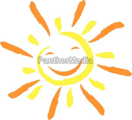 sol e sorriso face riso