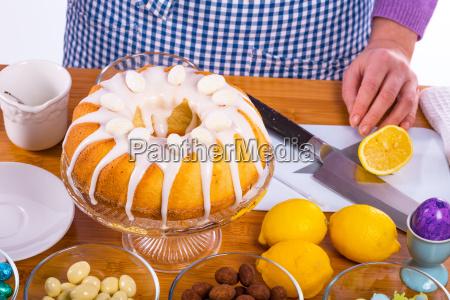 preparacao do esmalte do bolo