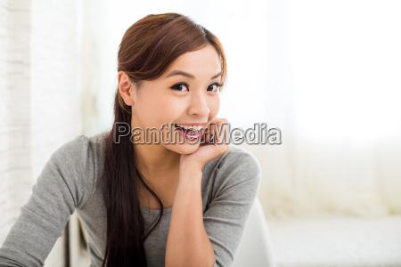mulher, em, casa - 16324515