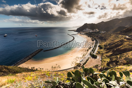 praia, las, teresitas, em, santa, cruz - 16356231
