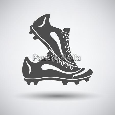 par de botas de futebol