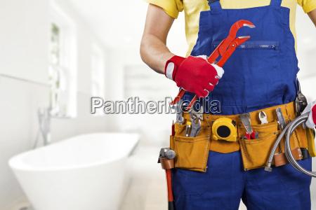 canalizador com a correia de ferramenta