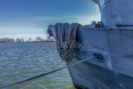 moored vessel