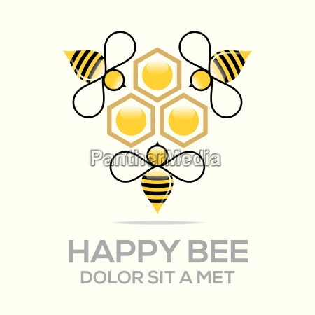 logotipo doce da colmeia natural e