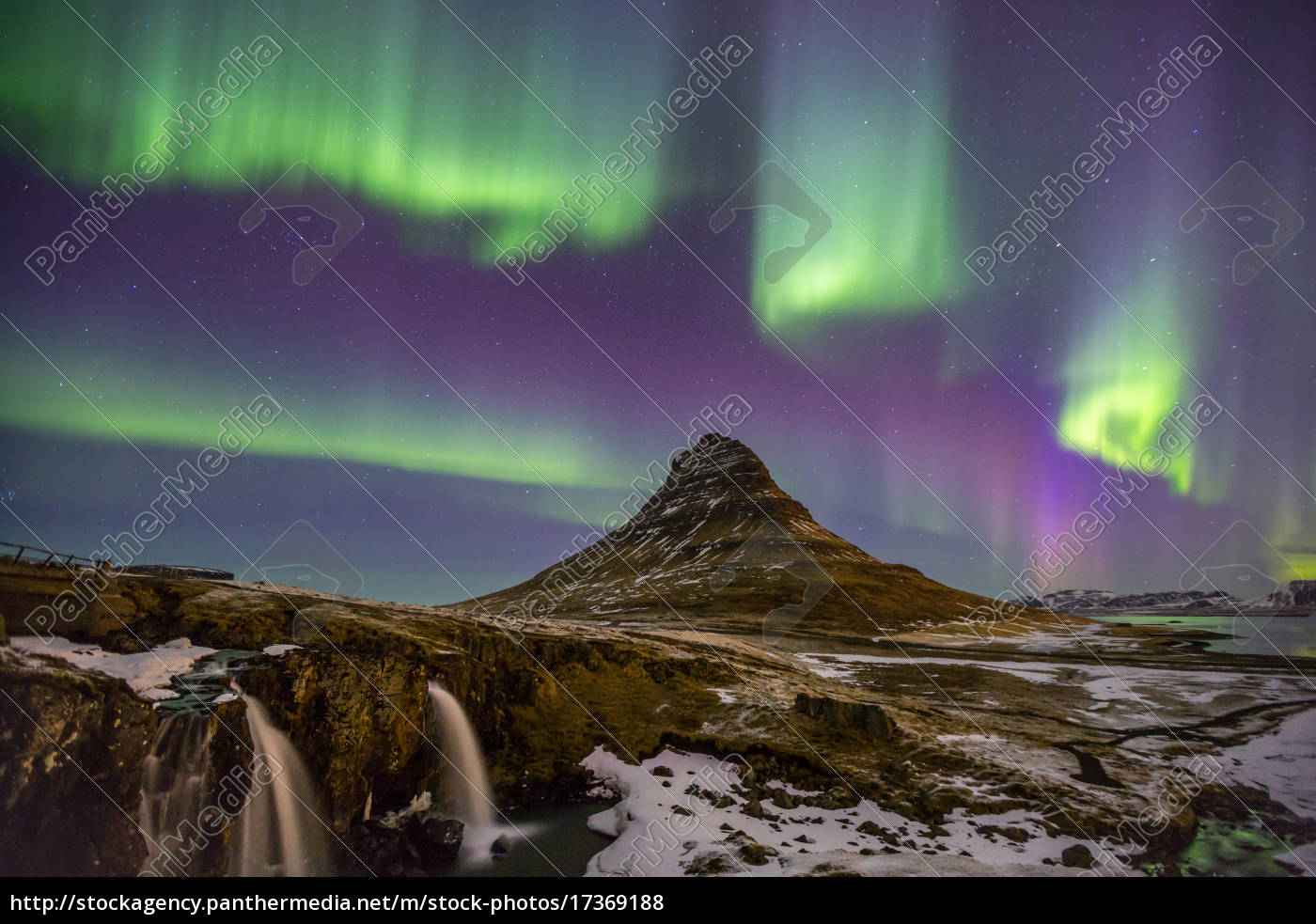 aurora, do, norte, islândia, das, luzes - 17369188