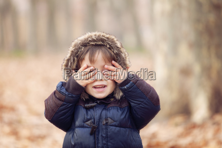 funny boy hooded jacket see no