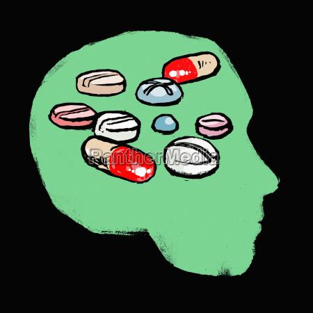 ilustracao quadrado imaginacao proteger medicina ideias