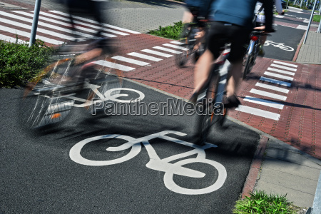 sinal passeio trafego ciclista transporte rode
