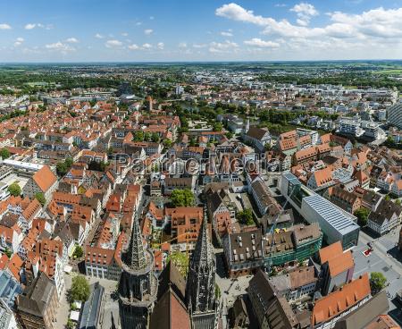 cidade horizonte cidade velha europa bavaria
