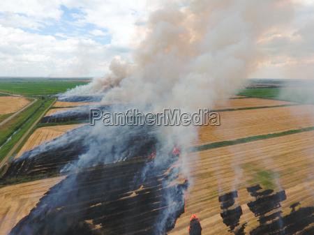 fumaca casa construcao perigo ambiente agricultura