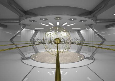 salao espaco moderno poder simetria comunicacao