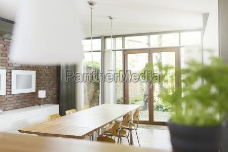 mesa de jantar projeto interior alemanha