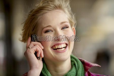 a portrait of a teenage girl