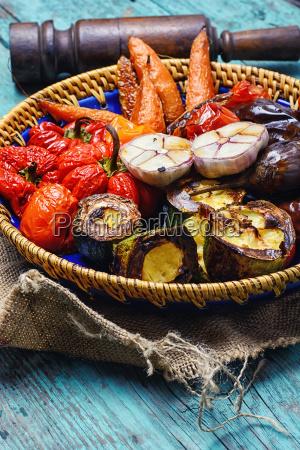 prato, de, vegetais, cozidos - 18192612