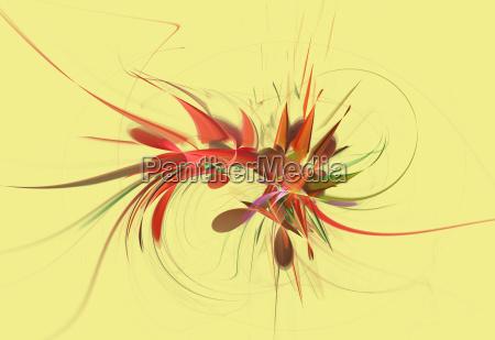 arte moderno ciencia ilustracao tecnologia abstrato