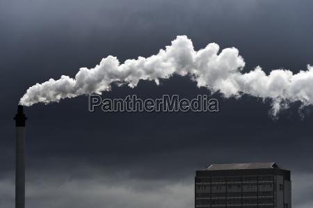 fumaca ambiente industria nuvem vapor poder
