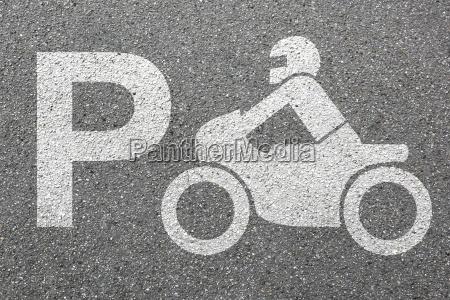 estacionamento motocicleta estacionamento motociclista trafego