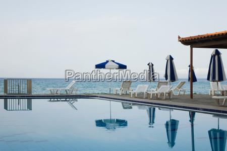 swimming pool near the sea