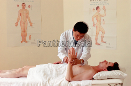 sessao de acupuntura