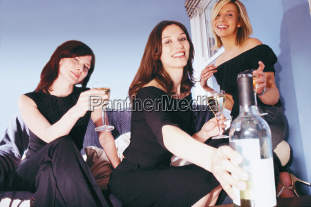women having a drink