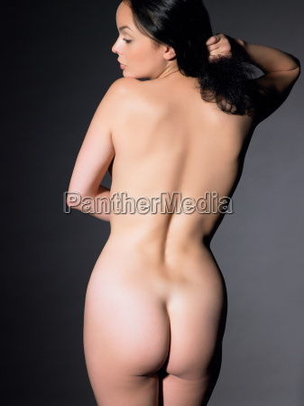 rear view of woman