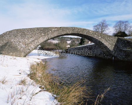 inverno ponte nuvem abobada ao ar