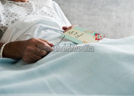 o paciente do hospital com comec