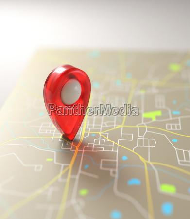 gps mark road mapa