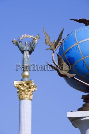azul passeio viajar arte estatua ao