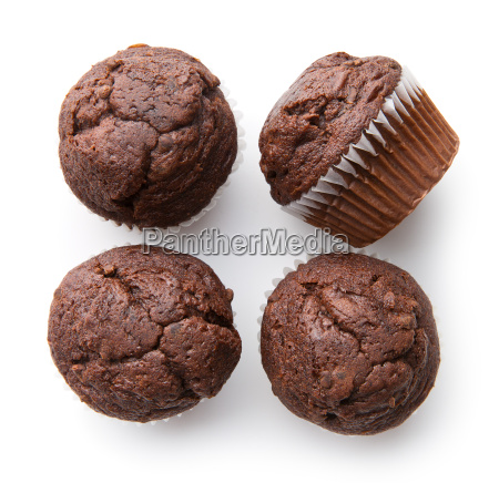 the tasty chocolate muffins