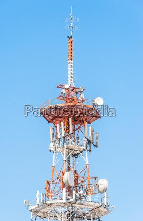 telefone estacao azul torre industria campo