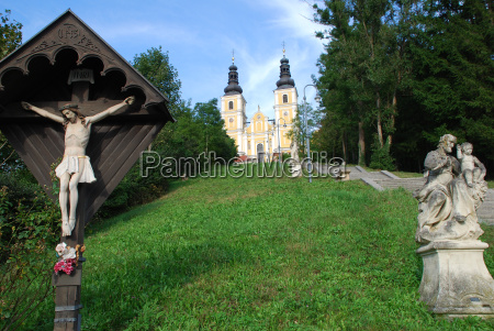 basilica maria trost mariatrost graz styria