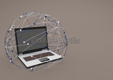 caderno computadores computador pc comunicacao ilustracao