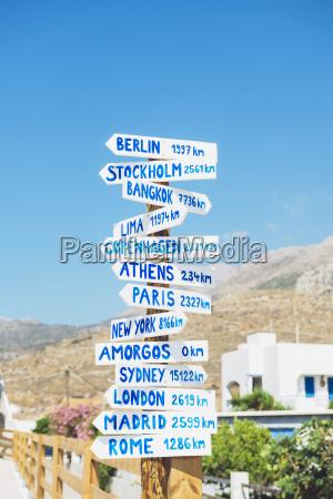 azul escrever passeio viajar cidade grecia