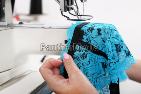 roupa interior de costura costura na