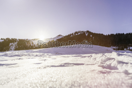 snow covered landscape achenkirch tirol austria